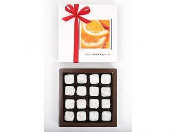 Orangentruffes, 16 Stk.-Schachtel