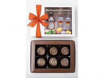 Bermontis-Pralines 6 Stk.-Schachtel